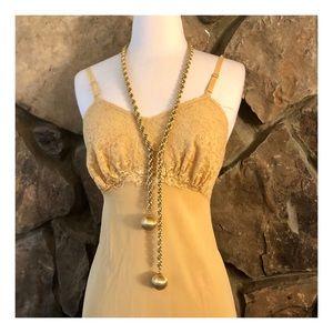 Vintage Gold Chain Belt Or Necklace